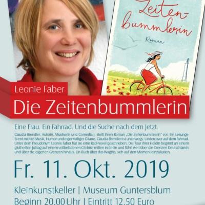 """Leonie Faber """"Die Zeitenbummlerin"""" in Guntersblum"""