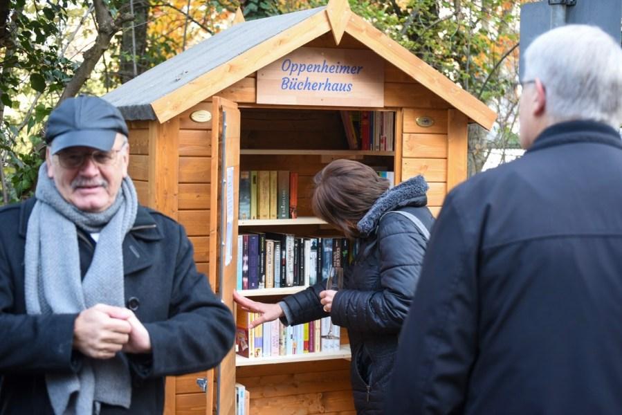 WfO weiht Bücherhaus in Oppenheim ein 11