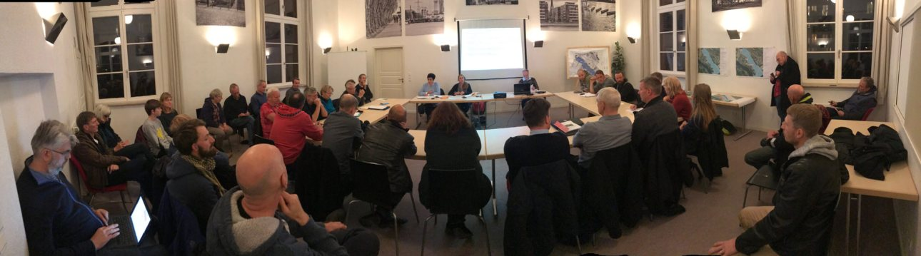 WiR – Wohnen in der Rummelsburger Bucht Nachbarschaftsverein – Kiezforum – Diskussionsrunde Rummelsburger See