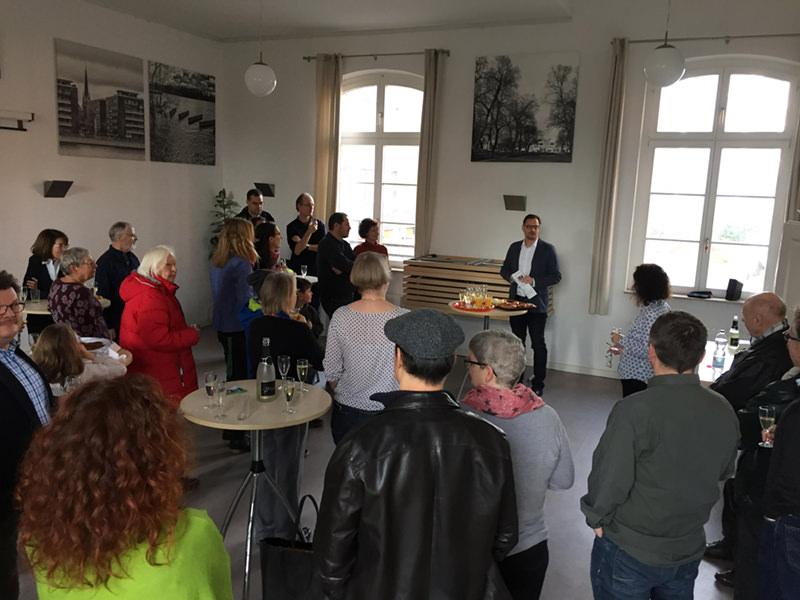 WiR – Wohnen in der Rummelsburger Bucht Nachbarschaftsverein – Neujahrsempfang Januar 2018 01