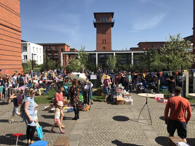WiR – Wohnen in der Rummelsburger Bucht Nachbarschaftsverein – Flohmarkt am 22. April 2018