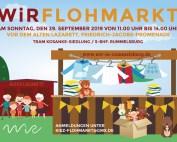 WiR – Wohnen in der Rummelsburger Bucht Nachbarschaftsverein – WiR Flohmarkt am 29.09.2019