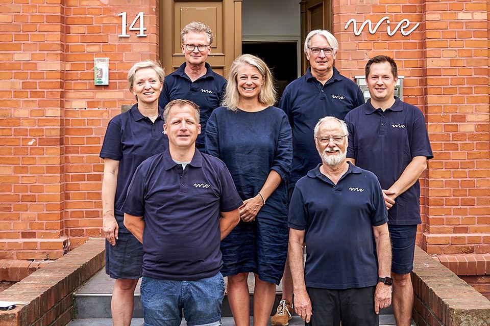 WiR – Wohnen in der Rummelsburger Bucht Nachbarschaftsverein – Der Vorstand im Juni 2021