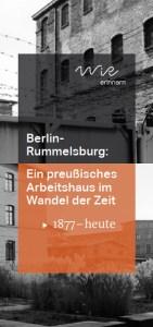 WiR – Wohnen in der Rummelsburger Bucht Nachbarschaftsverein – WiR erinnern - Historie Rummelsburg