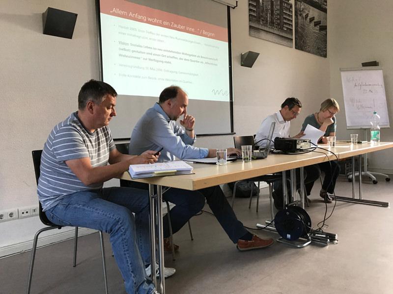 WiR – Wohnen in der Rummelsburger Bucht Nachbarschaftsverein – Mitgliederversammlung 2017