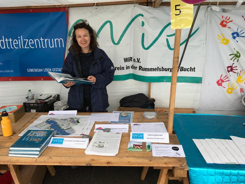 WiR – Wohnen in der Rummelsburger Bucht Nachbarschaftsverein – Rummelsburger Wasserfest 2017