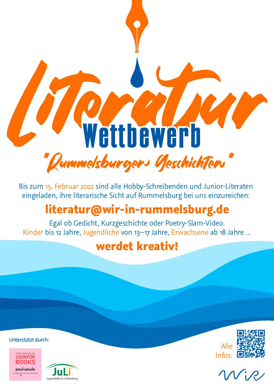 WiR – Wohnen in der Rummelsburger Bucht Nachbarschaftsverein – Literaturwettbewerb - Rummelsburger Geschichten