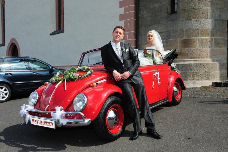 Hochzeit Auto Nordrhein Westfalen