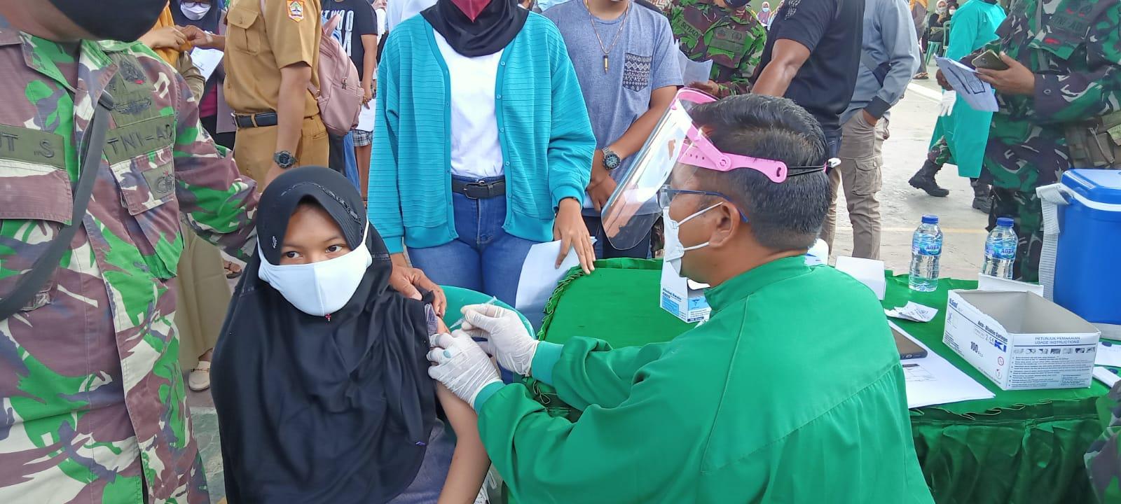 Jelang PTM, Pelajar di Purbalingga Mulai Divaksin Covid-19