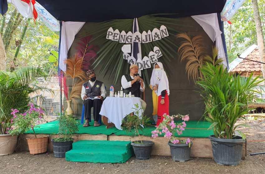 Pengajian Rutin Ponpes Darul Quran Imam Asy Syafii, Kumpulkan Donasi Pembangunan Asrama Santri