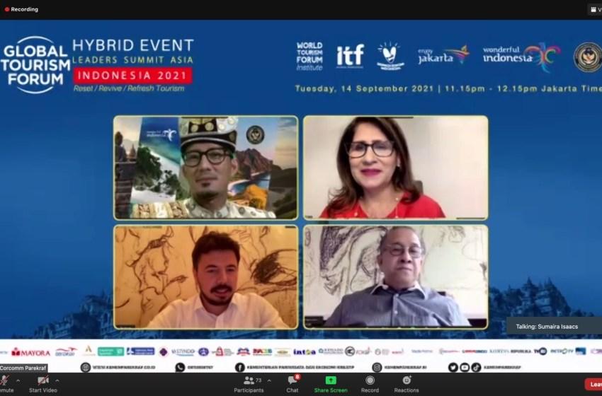 Wapres KH. Ma'ruf Amin dan Wapres Turki Akan Buka Global Tourism Forum 2021 Leaders Summit Asia