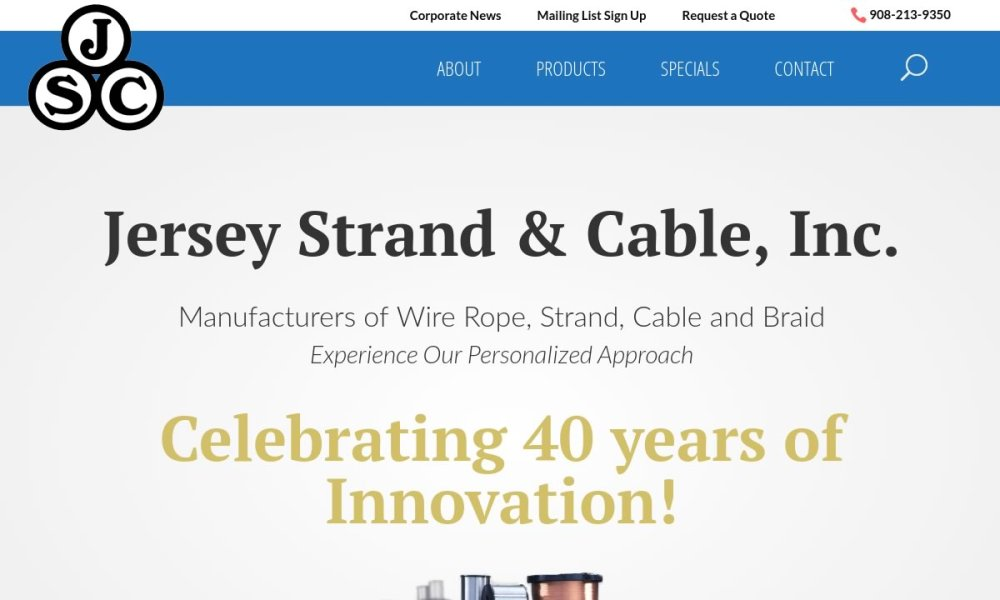medium resolution of jersey strand cable inc