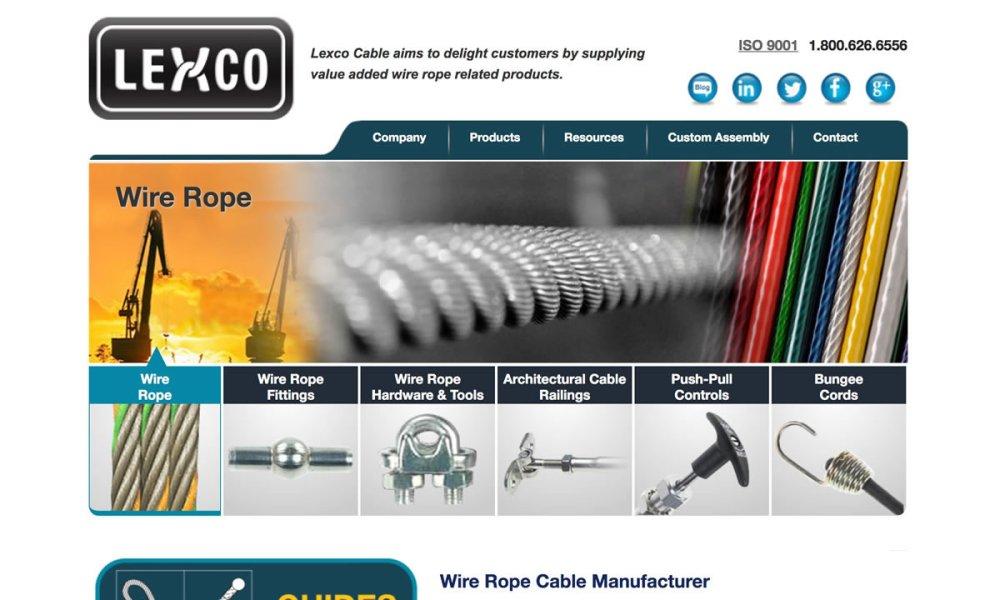 medium resolution of lexco cable mfg