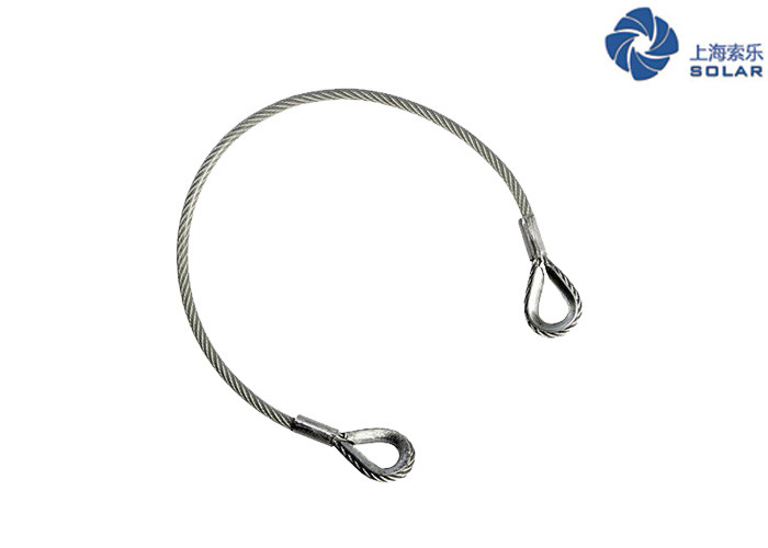 Us Standard Mechanically Spliced Wire Rope Sling With