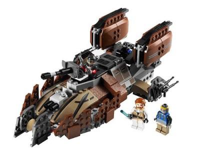 Legopiratetank