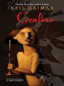 Coraline Graphic Novel by Neil Gaiman with illustrations by Dave McKean