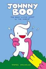 Johnny Boo by James Kolchaka. Top Shelf Productions