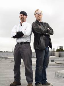 Jamie Hyneman and Adam Savage (Image: Discovery Channel)