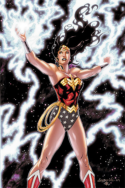 Cover to Wonder Woman #39, due in December. Copyright DC Comics.