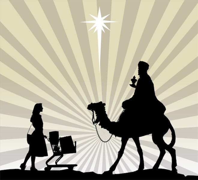 For God so loved the world that he gave us an excuse to overspend every year.
