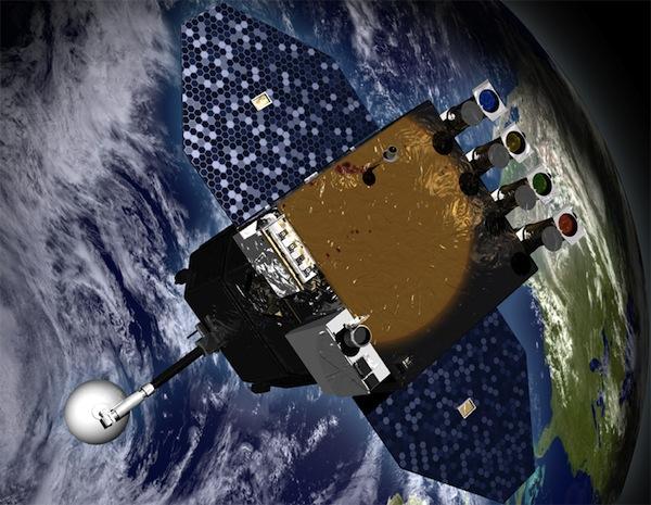 Artist Concept of SDO (Image: NASA)