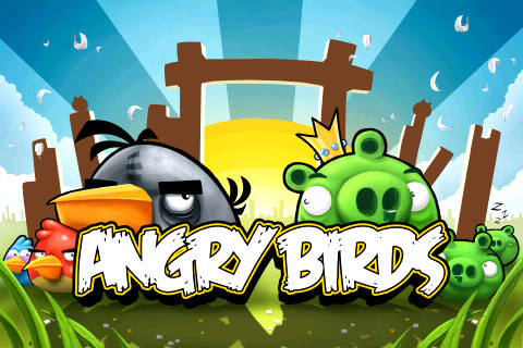 Angry Birds title screen