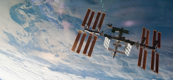 The International Space Station from the Space Shuttle Atlantis (Image:NASA)
