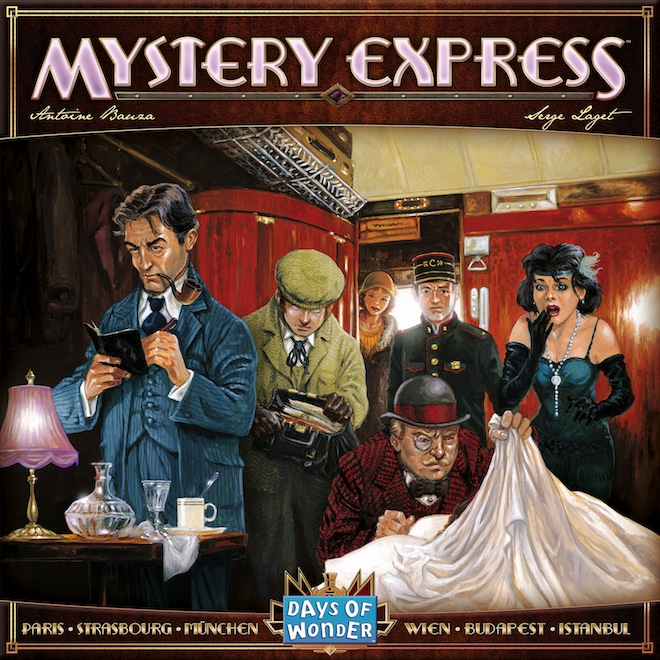 Mystery Express Box Cover