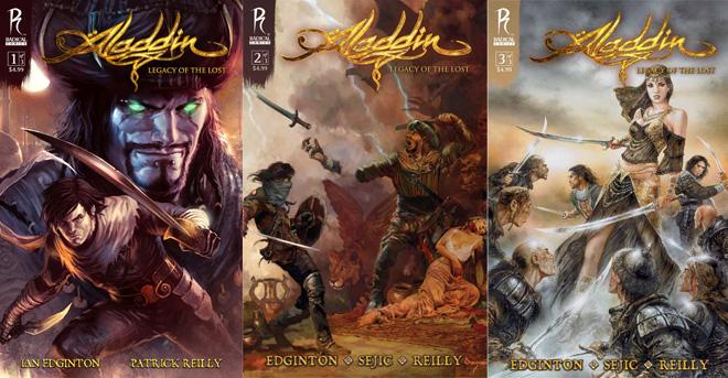 Aladdin covers