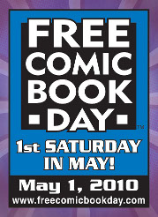 Free Comic Book Day is Saturday, May 1st