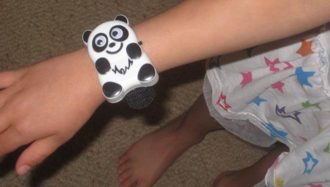 Child Guard transmitter bracelet