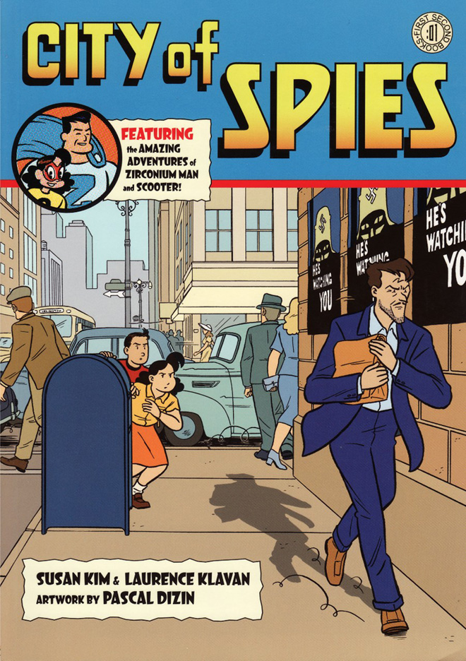 City of Spies cover image