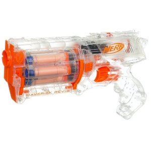 Forget the Clear Pepsi jokes, Hasbro's Nerf Clear Series blasters  (available August 1) present four of the line's most popular products, and  rather than ...