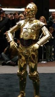 C3PO Costume worn by Grant Imahara