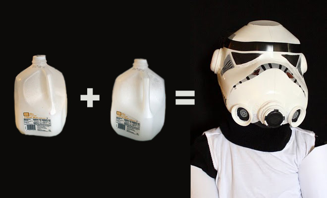 Milk Jug Stormtrooper Helmet