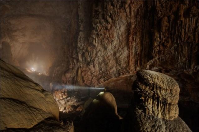 Vietnam cave