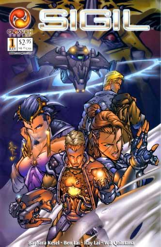Sigil, CrossGen, first issue
