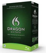 Nuance's Dragon Dictate 2.0 for Mac