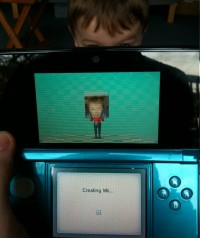 Mii Maker on 3DS