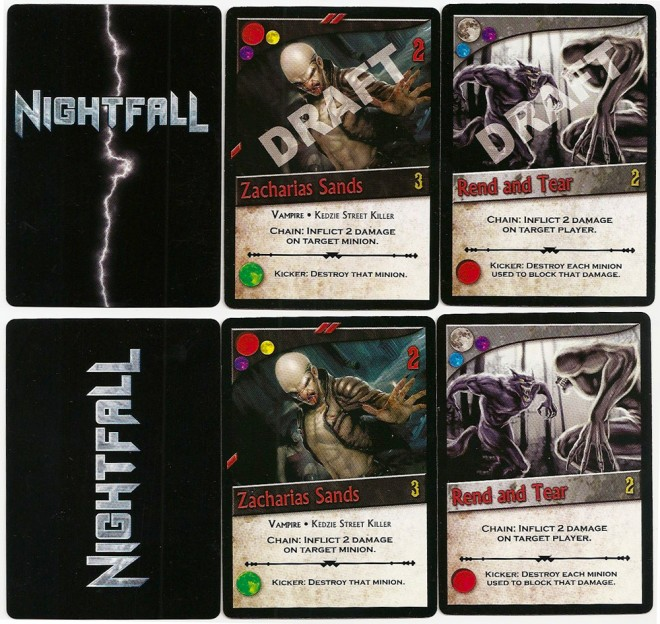 Nightfall cards