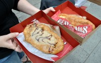 Not a donut, it's a beavertail.