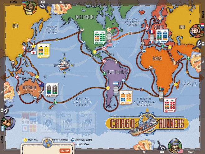 Cargo Runners board