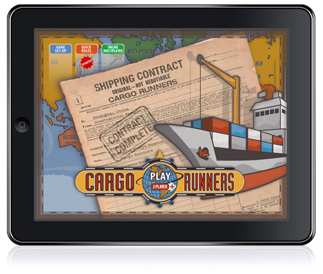 Cargo Runners for iPad, by Trouble Brothers.