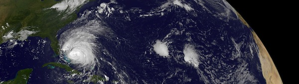 Hurricane Irene From GOES-East