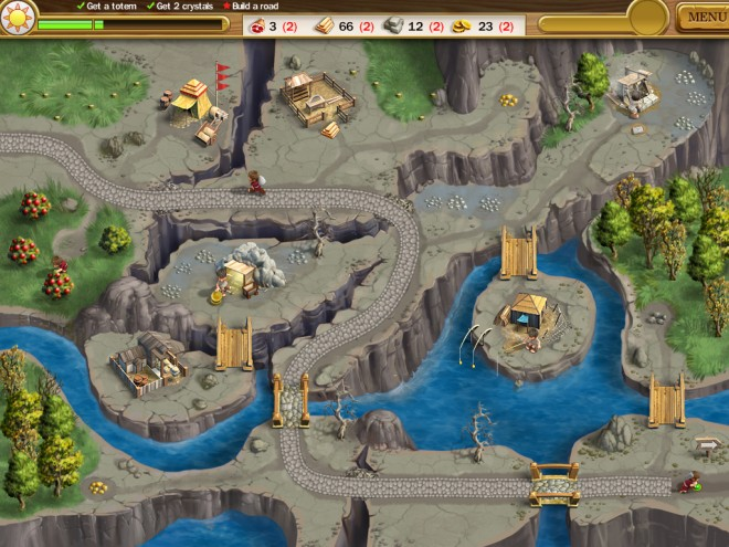 Roads of Rome screen