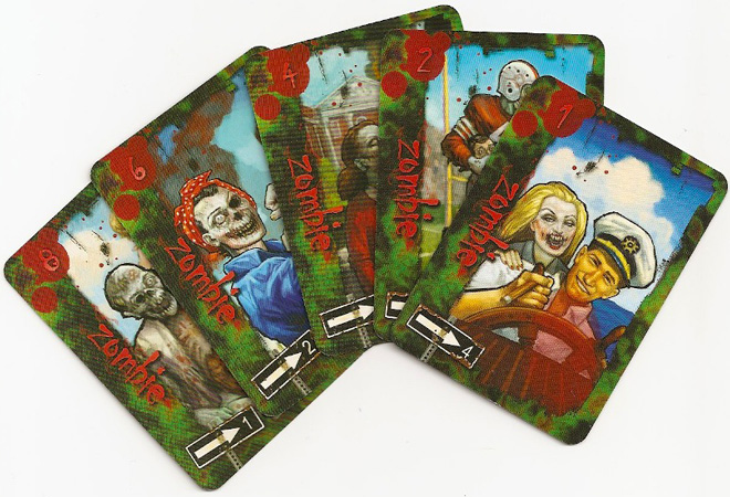 Eaten by Zombies: zombie cards