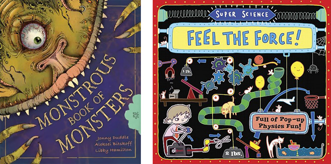 Monstrous Book of Monsters, Super Science: Feel the Force