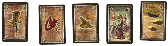 Wound cards