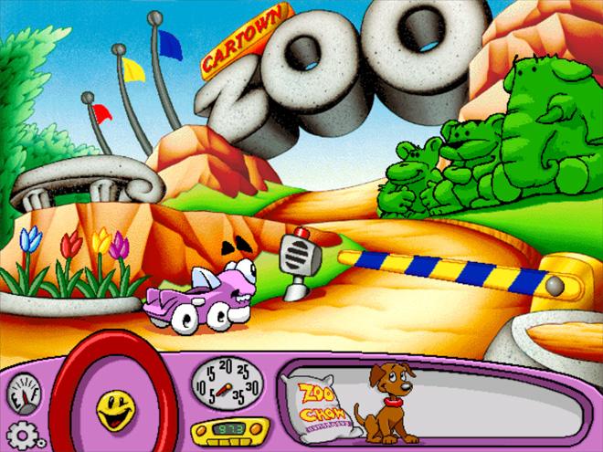 Putt-Putt Saves the Zoo screenshot