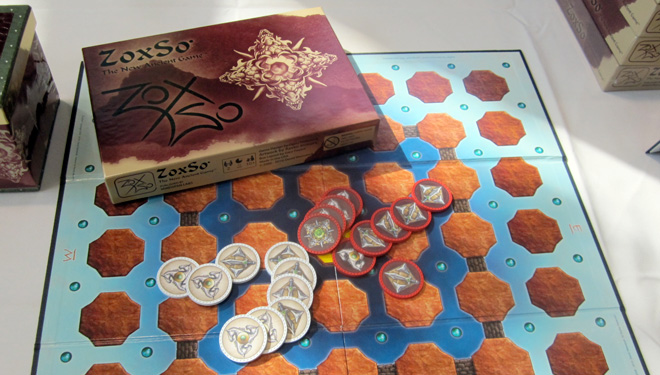 Zoxso board game